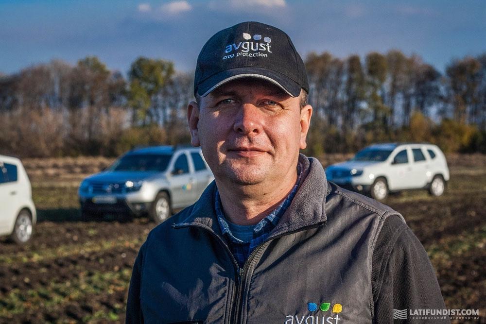 Андрей Задорожный, представитель «Август-Украина» в Харьковской области